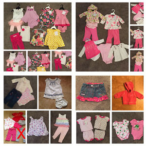 Baby Girl Brand Name Clothing Lot (3-6 & 6 Month)