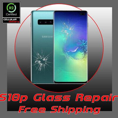 Samsung Galaxy S10 Plus Cracked Glass Screen Repair Service