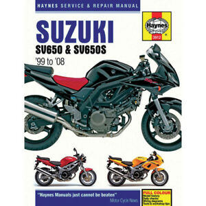 Haynes Repair Manual - Suzuki SV650/S - 3912