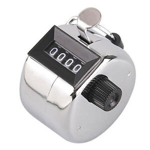 For Sell 4 Digit Stainless Desk and Hand Held Tally clicker Coun