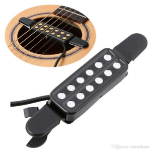 HDE Guitar Pickup Soundhole Electric Transducer Amplifier for Ac