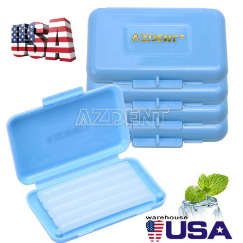 100 Boxes Dental Orthodontics Wax  Blue-Mint Scent AZDENT