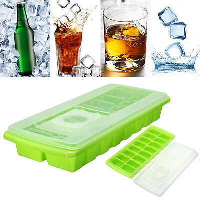 Ice Cube Trays 16 Cavity Ice
