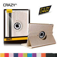 Rotate Stand Smart PU Leather Case Cover for Apple iPad Air 2