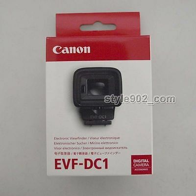 Original Canon Electronic Viewfinder EVF-DC1 For PowerShot G3 X Mark II 2 EOS M3