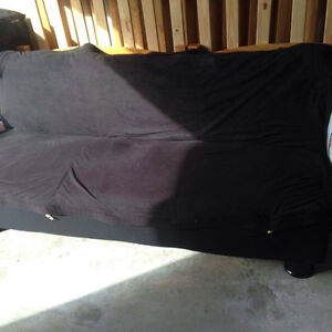 Black Fouton with Removable Cover Kitchener / Waterloo Kitchener Area image 3
