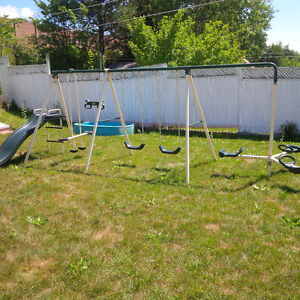 Scrap Metal Swing Set - Free