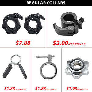 Regular Collar Collars Hex Lock Bar Pvc Adjustable Spin Threaded