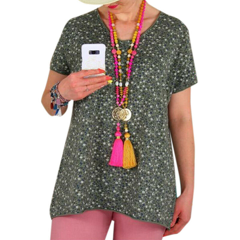 Women s Short Sleeve Loose Baggy Tops Blouse Ladies Summer T Shirt Tee Plus Size - $7.69