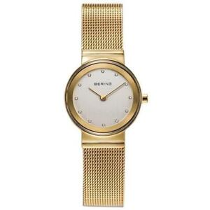 BERING Time 10126-334 Womens Classic Collection Watch with Mesh Band and sc
