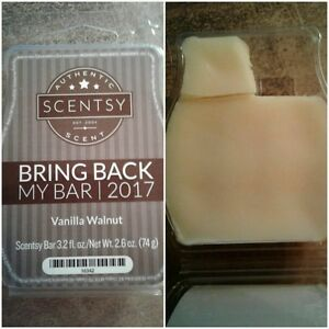 Scentsy's Vanilla Walnut - Bring Back My Bar 2017