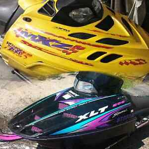 Two Sleds for $3000 (MXZ 700 XLT 600)