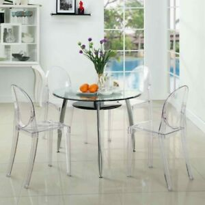 Clear Ghost Chairs $70 per chair or 4 for $250