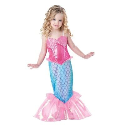 Ariel Dress Mermaid Tail Dresses for Kids Girl Princess Party Cosplay Costume](Ariel Dress For Kids)