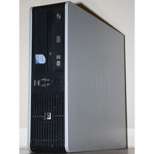 HP dc7800 SFF Desktop PC Core2 Duo DVDRW 4GB RAM 160GB HDD HDMI