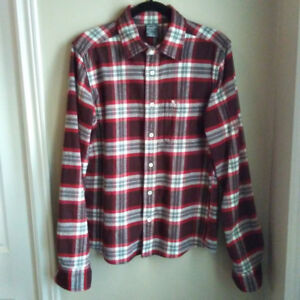 Men's Abercrombie & Fitch Flannel Shirt (Size L / Slim Fitting)