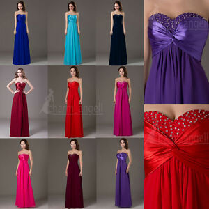 Angel-Womens-Dresses-Bridesmaid-Evening-Party-Formal-Prom-Dress-Gown-In-Stock