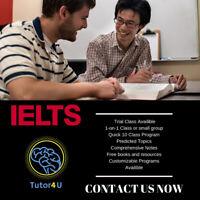 IELTS/TOEFL TUTORING