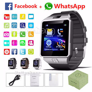 Bluetooth Android Smart Watch/Facebook/Whatsapp/Simcard/Camera London Ontario image 1