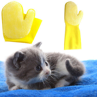 Pet Dog Cat Shower&Bath Brush Supplies Practical Grooming Cleaning Sleeves Glove