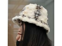 DAYMISFURRY--Mink Fur Lady Bucket Hat