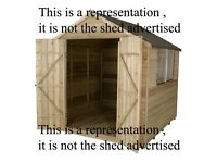 Free shed for pickup only