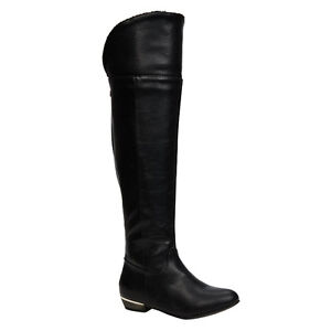 Tall black boots from Spring