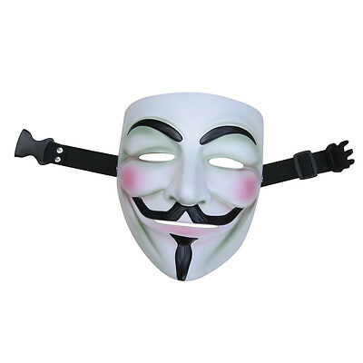 Resin Mask V FOR Vendetta Anonymous Movie Adult Guy Hot Halloween Cosplay Cool - Hot Halloween Guys