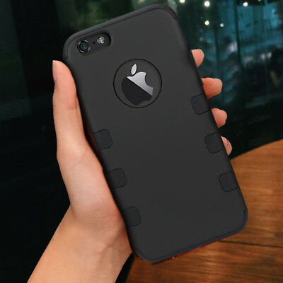 (Anti-Slip Slim Front and Back Hard Protective Cover For Apple iPhone 8 Plus / 8+)