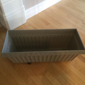 New Taupe Planter