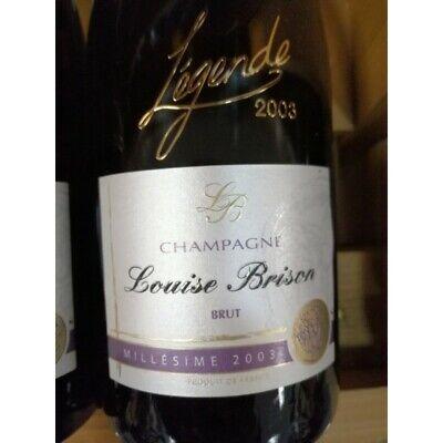 Champagne Brut Louise Brison Millésime 2003 - 75cl - 12.5%