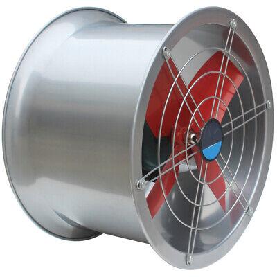 220v 24cylinder Pipe Fan Industrial Exhaust Fan Wall Mounted Ventilator Draft