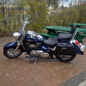 Beautiful Suzuki Boulevard C50 Motorcycle - buy now for spring