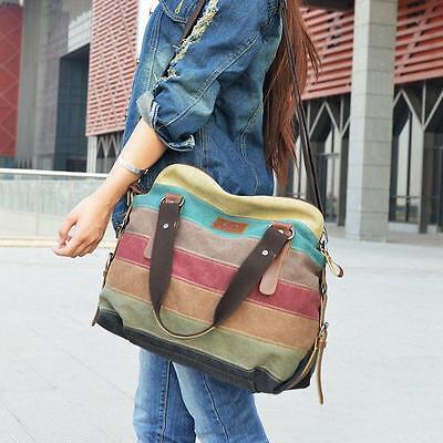 Women Shoulder Bag Satchel Crossbody Tote Handbag Purse Messenger Canvas USHK