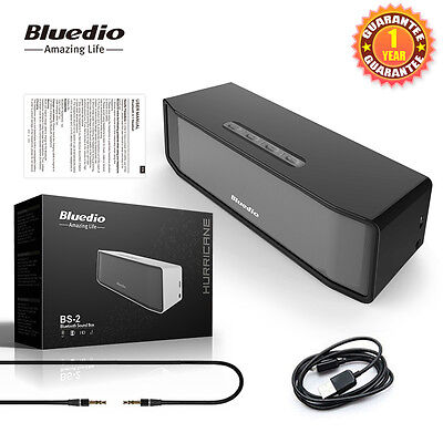 Bluedio BS-2 Portable Bluetooth Wireless Stereo Speaker for SmartPhone Tablet PC on Rummage