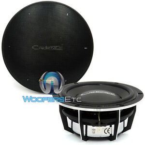 2-CADENCE-5-25-CAR-AUDIO-MIDRANGE-SUBWOOFERS-LOUD-CLEAN-PAIR-GRILLS-5-1-4