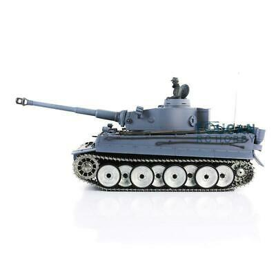 US Stock 3818 W/ Barrel Recoil Metal Wheel 6.0 Tiger I Henglong 1/16 RTR RC Tank for sale  Cranbury