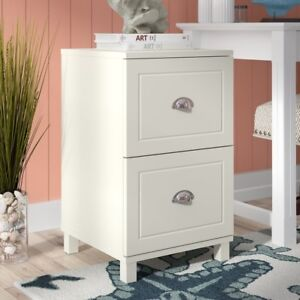 WANT TO PURCHASE: 2 DRAWER WOODEN FILING CABINET, WHITE OR BLACK