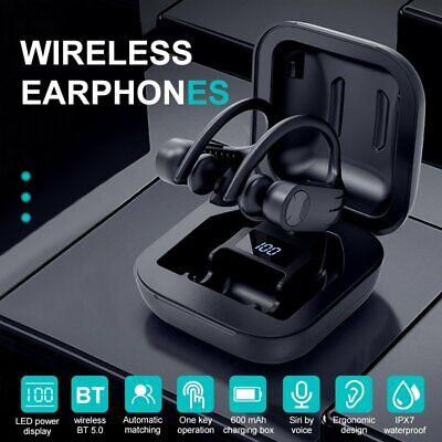 Mpow Bluetooth Earbuds Stereo Wireless Earphones TWS Headphones Ear Hook Headset
