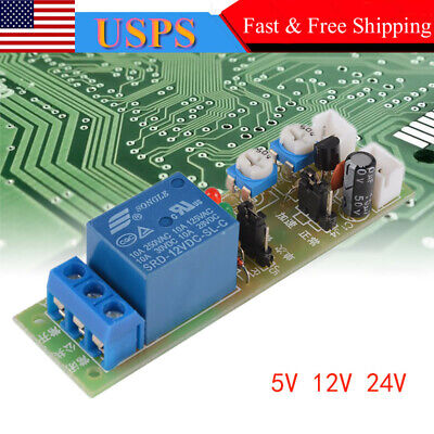 51224v Dc Infinite Cycle Delay Time Timer Relay Turn On Off Switch Loop Module