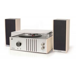 Crosley Player II Retro Vinyl Record Player Turntable - Mahogany/Grey
