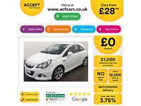 Vauxhall/Opel Corsa 1.6i 16v Turbo ( 192ps ) 2012.5MY VXR FROM £28 PER WEEK.