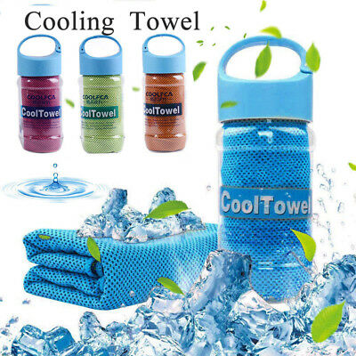 Instant&Quick Cooling ICE Cold Towel Cycling Gym Outdoor Sports Chilly Bandana