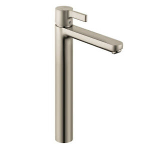 Hansgrohe 31020821 Metris S Single Hole Faucet Tall Brushed Nick