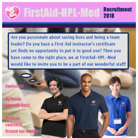 First Aid Instructor Wanted