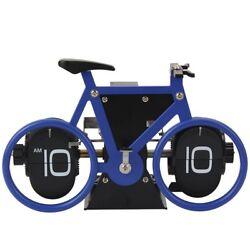 Retro Clock Bicycle Clock Creative Flip Clock Flip Down Clock Travel Clock