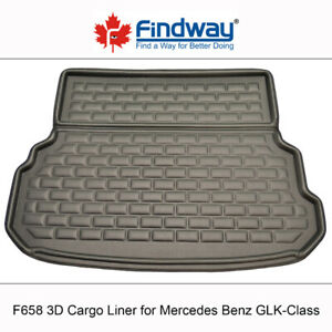 3D All Weather Cargo Liner for Mercedes-Benz GLK/GL/GLS/ML/GLE/B