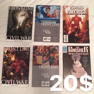 Comics de Marvel en anglais