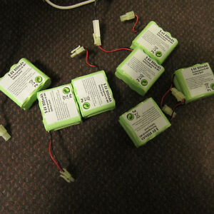 9.6V 800mAh rechargeable Ni-Mh battery pack Kitchener / Waterloo Kitchener Area image 6