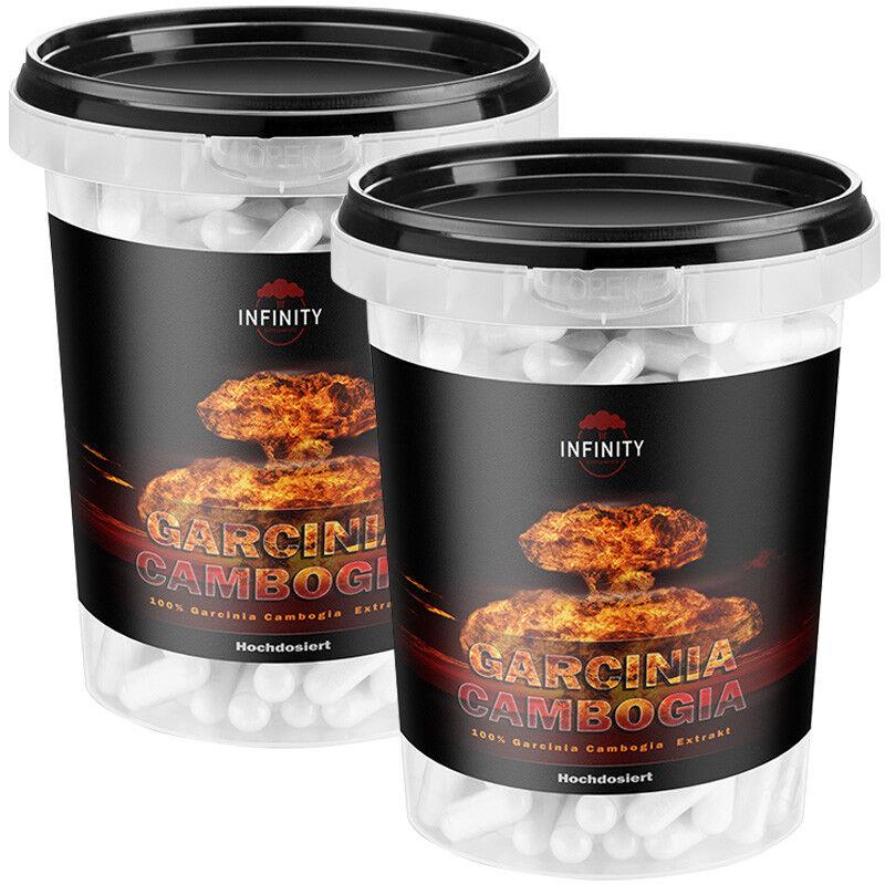 300 - 900 KAPSELN GARCINIA CAMBOGIA 3000mg / Appetithemmer Appetitzügler - stark